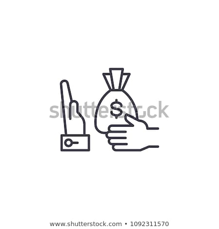 Stop Corruption Concept Stock photo © Lightsource