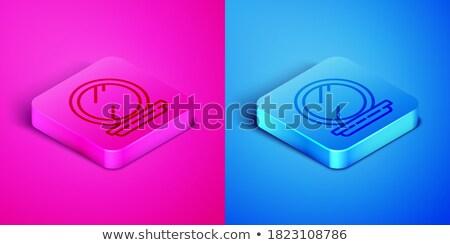 felfelé · kompakt · tükör · gyönyörű · arc · szexi - stock fotó © ssuaphoto