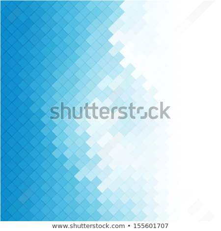 Blauw mozaiek ontwerp Stockfoto © SArts