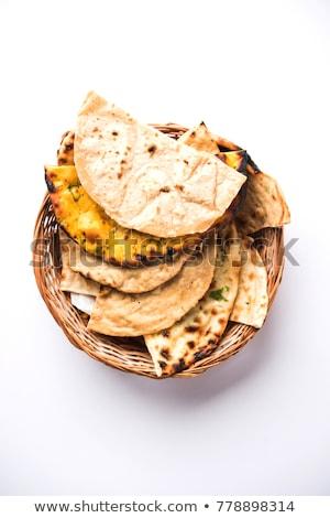 indiai · étel · rizs · curry · étterem · asztal - stock fotó © monkey_business