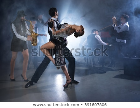Sax and dances. stock photo © Fisher