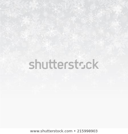 Natale · abstract · fiocchi · di · neve · stelle · illustrazione · neve - foto d'archivio © orson