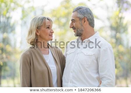 пару другой человека женщину тесные Сток-фото © tekso