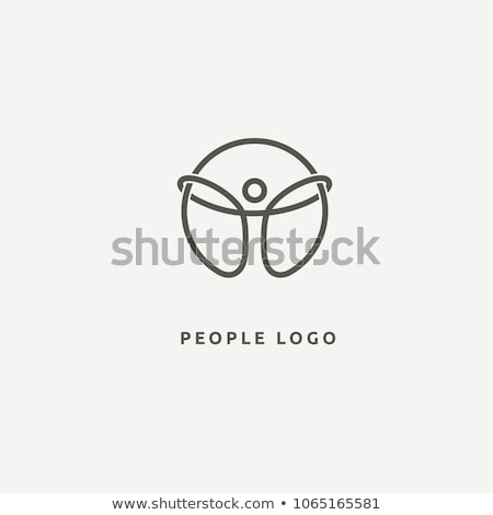 wellness people health logo symbol icon vector design Stock photo © gothappy