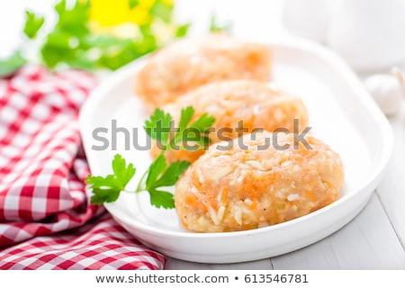 Carne legumes alimentos para bebês comida bebê Foto stock © yelenayemchuk