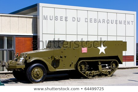 Day D Museum, Arromanches, Normandy, France Stock photo © phbcz