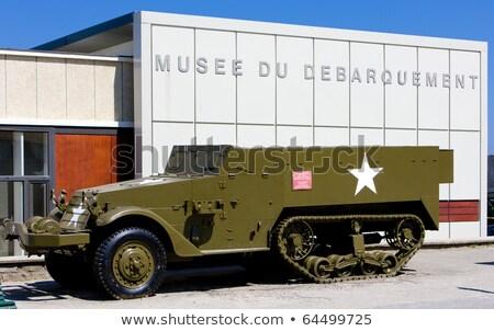 day d museum arromanches normandy france stock photo © phbcz