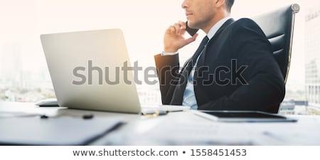 Za pomocą laptopa cyfrowe tabletka laptop biuro Zdjęcia stock © wavebreak_media