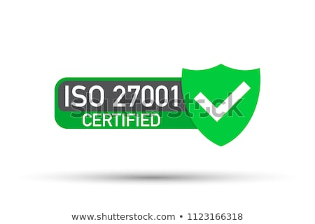 iso 27001 certified medal   information security management stock photo © gomixer
