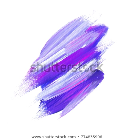 Ultraviolet watercolor brush stroke banners  Stock photo © Sonya_illustrations