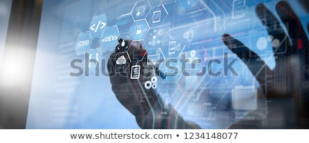 The concept of agile software development stock photo © Elnur
