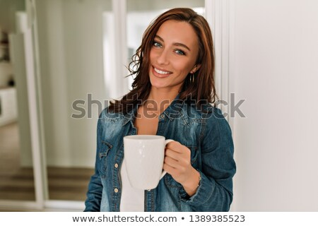 Natural woman in her 30s stock photo © lubavnel