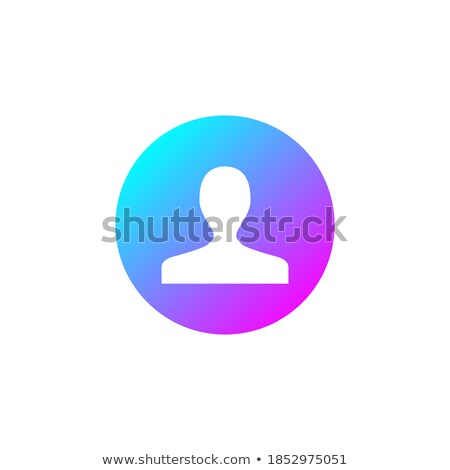 User icon. Human person symbol. Avatar login sign. Vector illustration isolated on modern background Stock photo © kyryloff