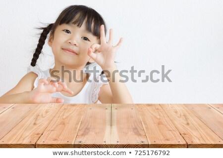 дети · говорить · иллюстрация · группа · девушки · детей - Сток-фото © colematt
