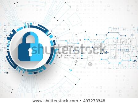 Privacy engineering concept vector illustration. Stock photo © RAStudio