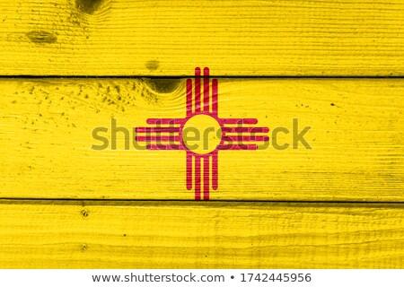 Мексика флаг иллюстрация древесины дизайна Сток-фото © colematt