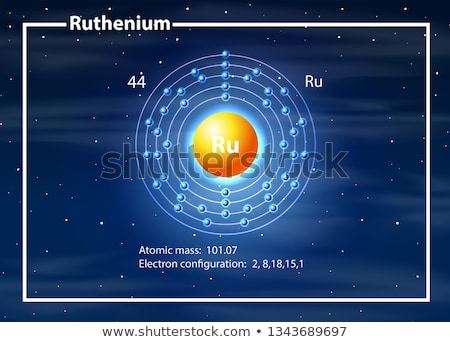 Atome diagramme illustration design technologie fond Photo stock © bluering