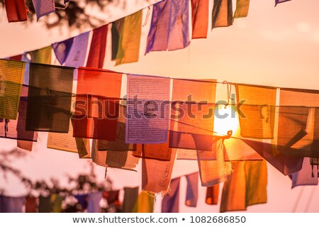 some flags of China Stock photo © nito