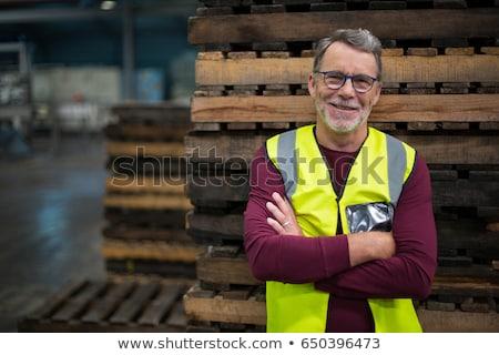 工場労働者 立って 行 包装 実例 食品 ストックフォト © jossdiim