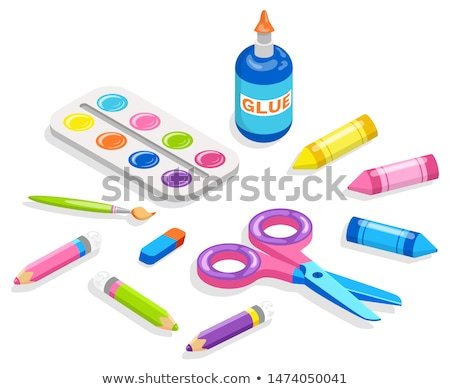 School Supplies for Painting and Application, Glue Stock photo © robuart