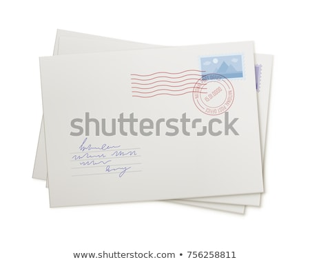 Traditional letter in an envelope Stock photo © oxygen64