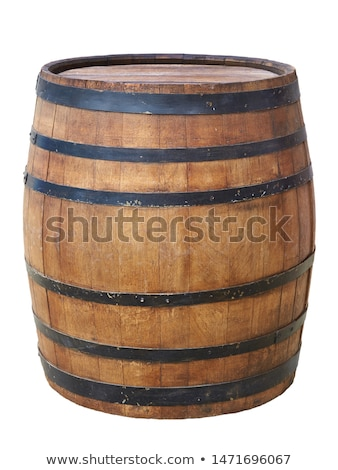 Grande madera barril edad interior oscuro Foto stock © nomadsoul1