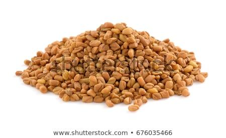 Semences laisse blanche texture alimentaire pétrolières Photo stock © bdspn