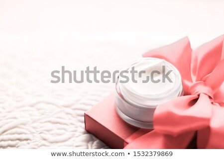 Luxury face cream for sensitive skin and coral holiday gift box, Stock photo © Anneleven