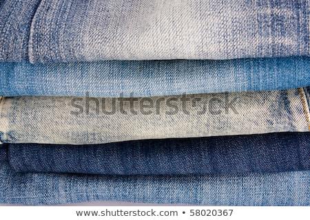 Mavi doku moda web kot arka Stok fotoğraf © jomphong