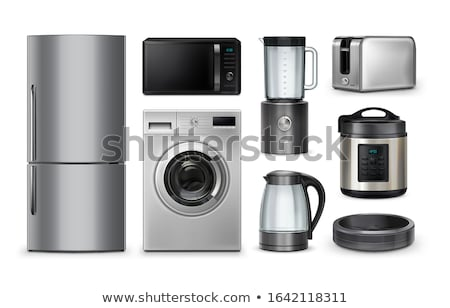 Electric Kettle, Shopping Appliances in Market Stock photo © robuart