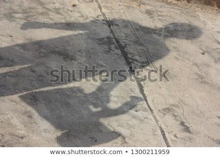 реалистичный отражение солнечный свет стены полу тень Сток-фото © sedatseven
