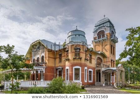 歴史的 家 エストニア 市 センター 建物 ストックフォト © borisb17