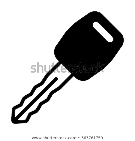 car ignition icon vector outline illustration Stock photo © pikepicture