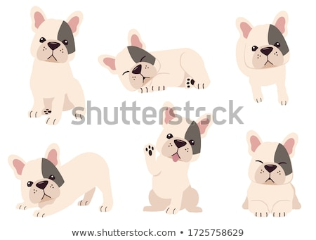 cartoon brown dog funny animal character Stock photo © izakowski