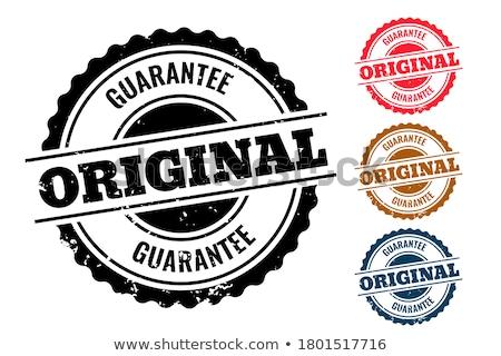 Quatre originale caoutchouc sceau tampon Photo stock © SArts