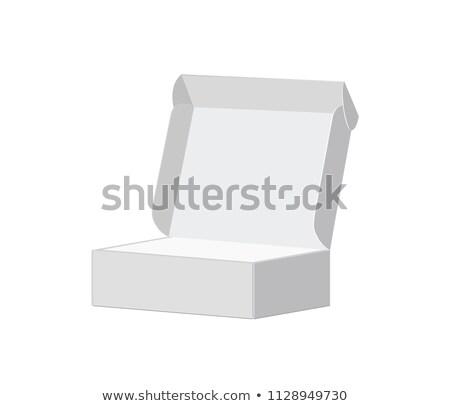Kutu abonelik hizmet soyut plan e-ticaret Stok fotoğraf © RAStudio