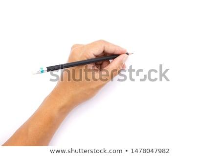 kobieta · artysty · farbują · rysunek · sztuki · szkoły - zdjęcia stock © get4net
