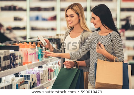 young woman in cosmetic shop stock photo © Paha_L