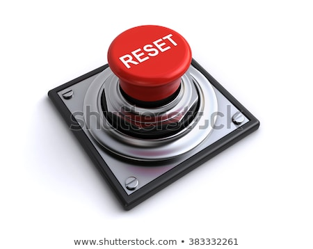 3d reset button Stock photo © nasirkhan