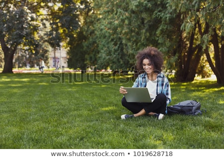 Worker connecting with laptop outdoors Stock photo © photography33