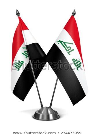 Miniature Flag of Iraq (Isolated) Stock photo © bosphorus