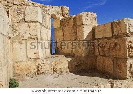 Arciere vecchio muro english mattone Foto d'archivio © russwitherington