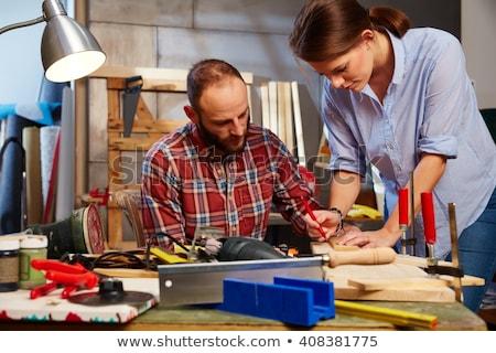 Two men do DIY Stock photo © photography33