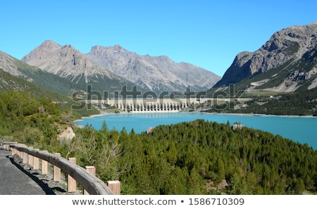 alpine · water · natuur · berg · macht · elektriciteit - stockfoto © rmarinello