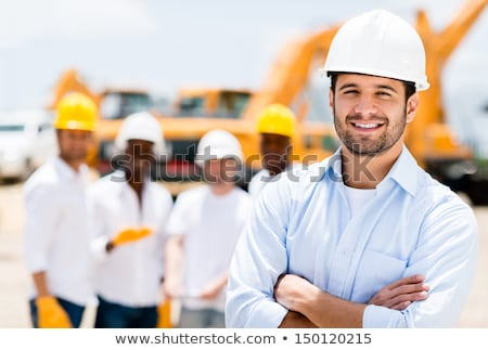 Real Construction Worker - Confident Stock photo © lisafx