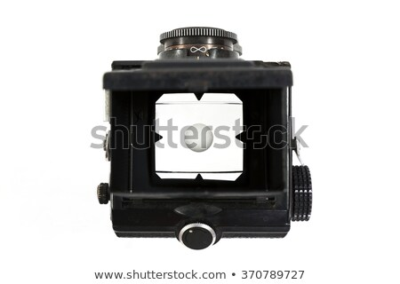 Viewfinder of the old camera. Stock photo © borysshevchuk