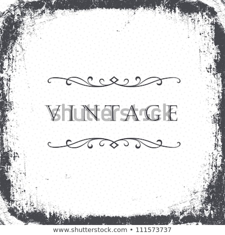 Grunge vintage background mask with space for text. stock photo © pashabo