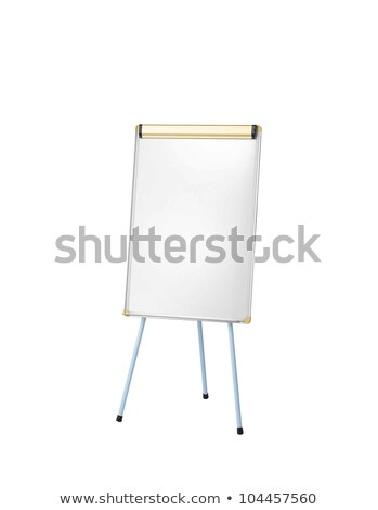 Whiteboard isoloated on white Stock photo © ozaiachin