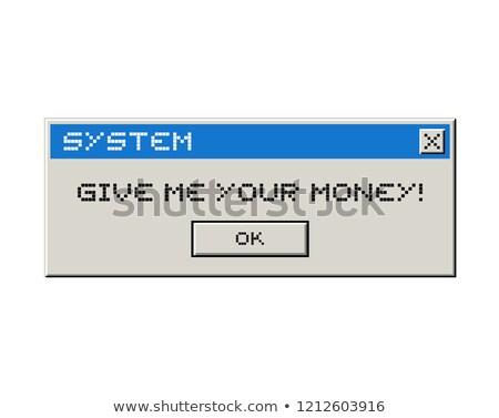 Stok fotoğraf: Vermek · bana · para · hırsız · adam · güvenlik