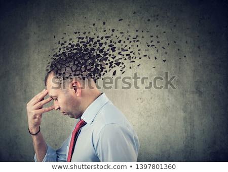 認知症 病気 損失 脳 機能 思い出 ストックフォト © dacasdo